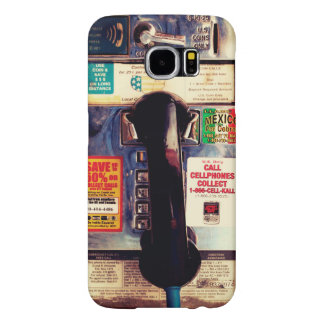 Retro Funny US Public Pay Phone - Cool and Unique Samsung Galaxy S6 Cases
