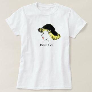 Retro Gal (2X-Large) Tshirts