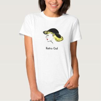Retro Gal (small) Tshirts