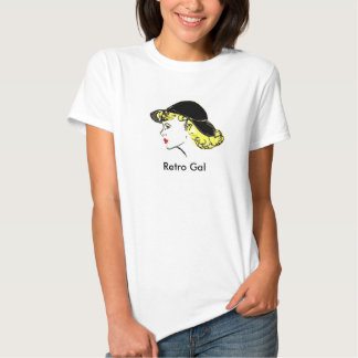 Retro Gal (X-Large) Tshirts