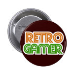 Retro Gamer Geek Pins
