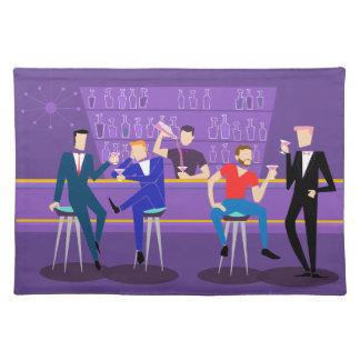Retro Gay Bar Cloth Placemat