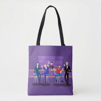Retro Gay Bar Tote Bag