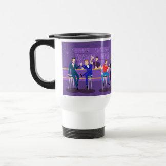 Retro Gay Bar Travel Mug