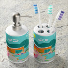 Retro Gay Pool Party BathSet Bathroom Set
