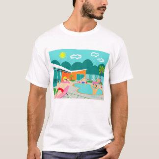 Retro Gay Pool Party T-Shirt