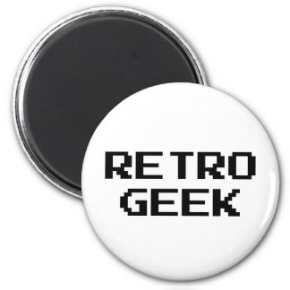 Retro Geek Products & Designs! Magnet