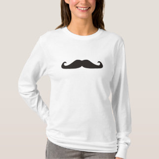 Retro gentelman mustaches hipsters T-Shirt
