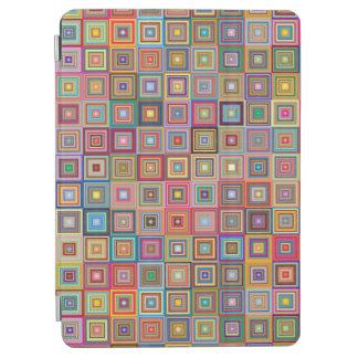 Retro Geometric Tile Pattern iPad Air Cover