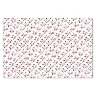 Retro Girl & Boy Valentines Tissue Paper