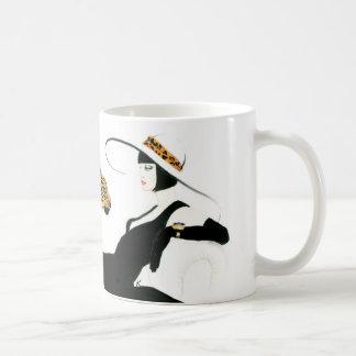 Retro Glam Art Deco coffee mug