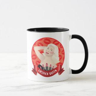 Retro Glamour Blonde Pinup Diva Mug