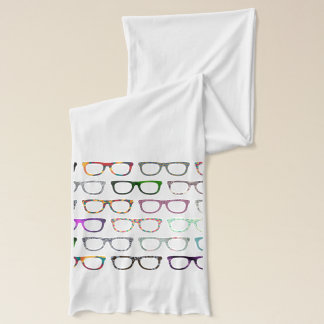 Retro Glasses Hipster scarf