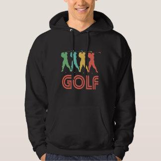 Retro Golf Pop Art Hoodie