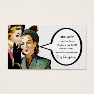 Retro Gossip Business Card