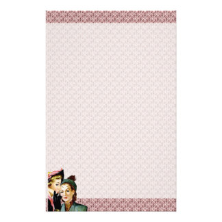 Retro Gossip Stationery