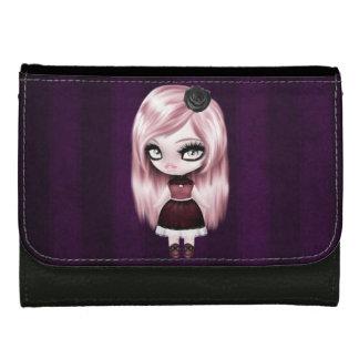 Retro Goth Gothic Doll Women's Wallet