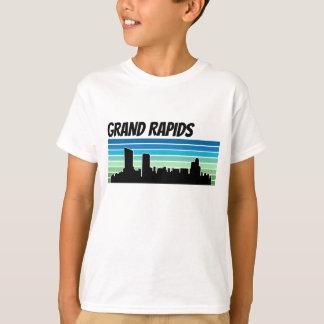 Retro Grand Rapids Skyline T-Shirt