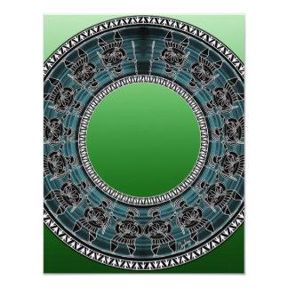 Retro Greek Disc Card