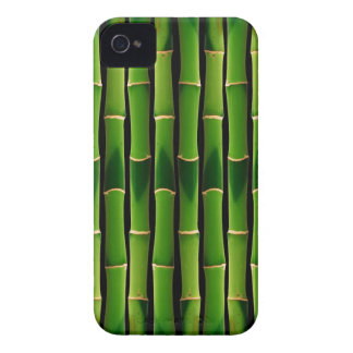 Retro Green Bamboo Texture Pattern Case-Mate iPhone 4 Cases