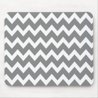 Retro GREY Zig Zag Pattern Mouse Pad