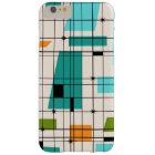 Retro Grid and Starbursts iPhone 6/6S Plus Case