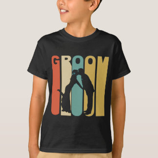 Retro Groom T-Shirt