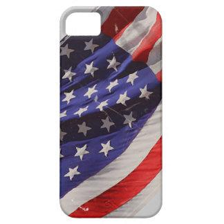 Retro Grunge Flying Flag of America iPhone 5 Case