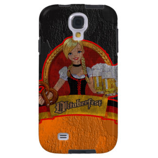 Retro Grunge Oktoberfest Waitres Girl Samsung  S4