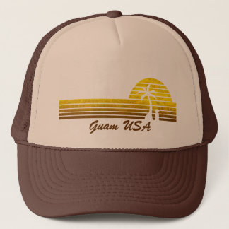 Retro Guam Trucker Hat