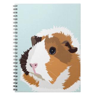 Retro Guinea Pig 'Elsie' Notebook