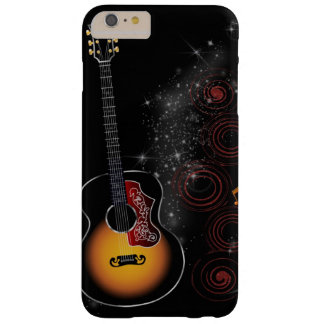 Retro Guitar Barely There iPhone 6 Plus Case