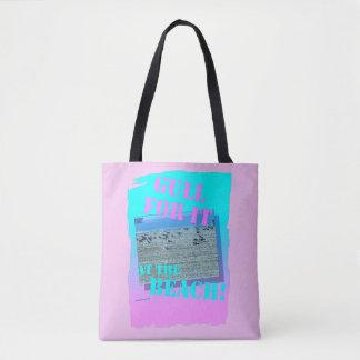 Retro Gull For It Design Tote Bag