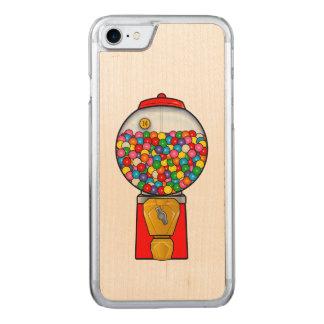Retro Gum Ball Machine Carved iPhone 7 Case