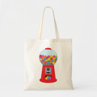 Retro Gumball Machine Tote Bag