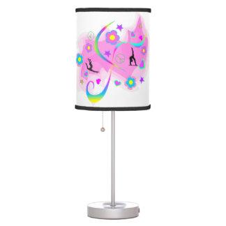 Retro Gymnastics Table Lamp