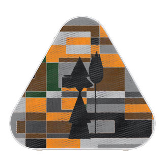 Retro Halloween Witch Abstract Blueooth Speaker