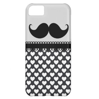 Retro Handlebar Mustache Cover For iPhone 5C