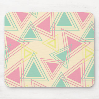 Retro Happy Abstract Mouse Pad