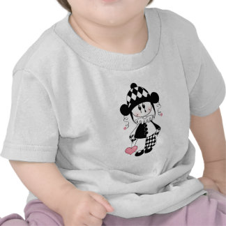 Retro Harlequin Clown T Shirts