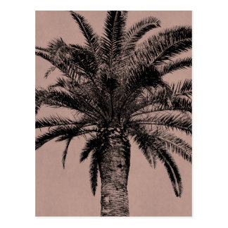 Retro Hawaiian Palm Tree - Vintage Palms Template Postcard