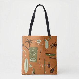 Retro Hawaiian Tote Bag - Vintage Hawaii