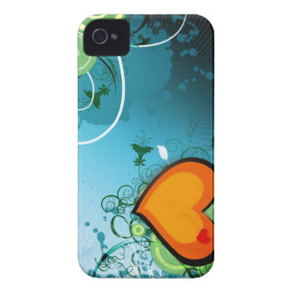 Retro Heart Case-Mate iPhone 4 Case