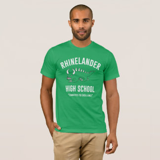 Retro Hodag - Rhinelander High School: Mens' Kelly T-Shirt