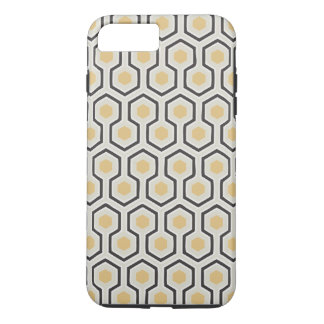 Retro Honeycomb Pattern Beehive iPhone 7 Plus Case