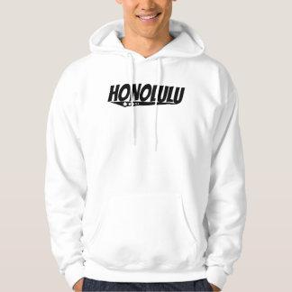 Retro Honolulu Logo Hoodie
