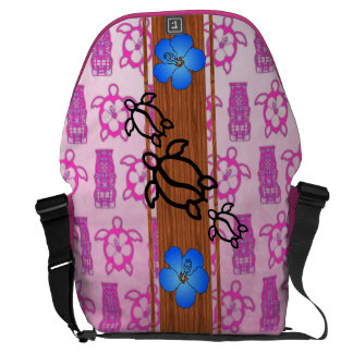 Retro Honu Surfboard Commuter Bags