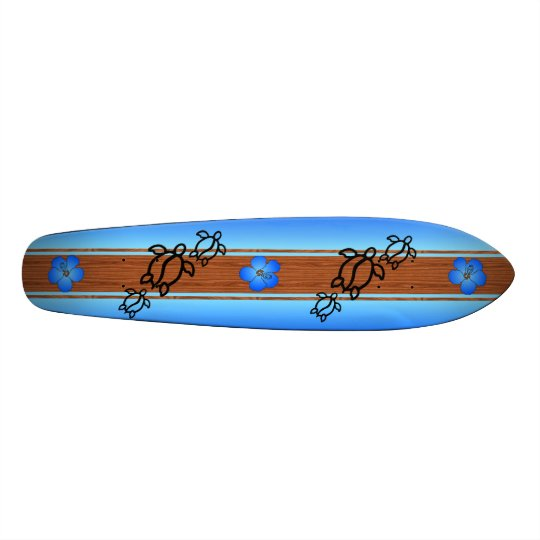Retro Honu Surfboard Skate Board Decks