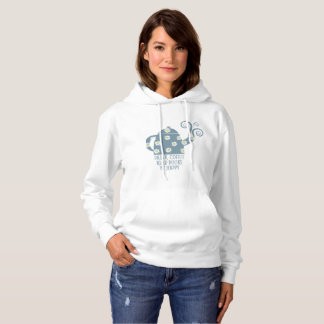 Retro hoodie: Drink Coffee, Read Books, Be happy Hoodie