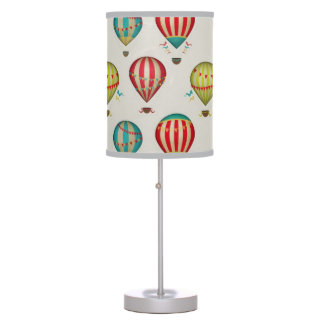 Retro Hot Hair Balloons Table Lamp